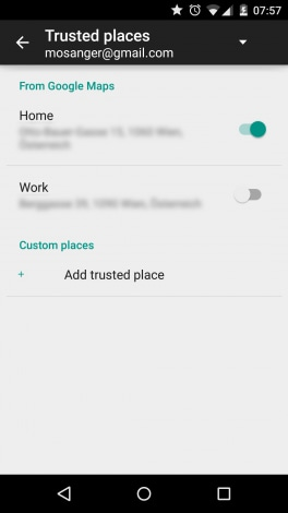Smart Lock luoghi fidati - 00002