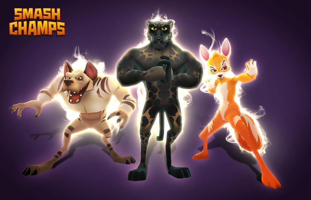 Il nuovo aggiornamento per Smash Champs introduce le skin aggiuntive