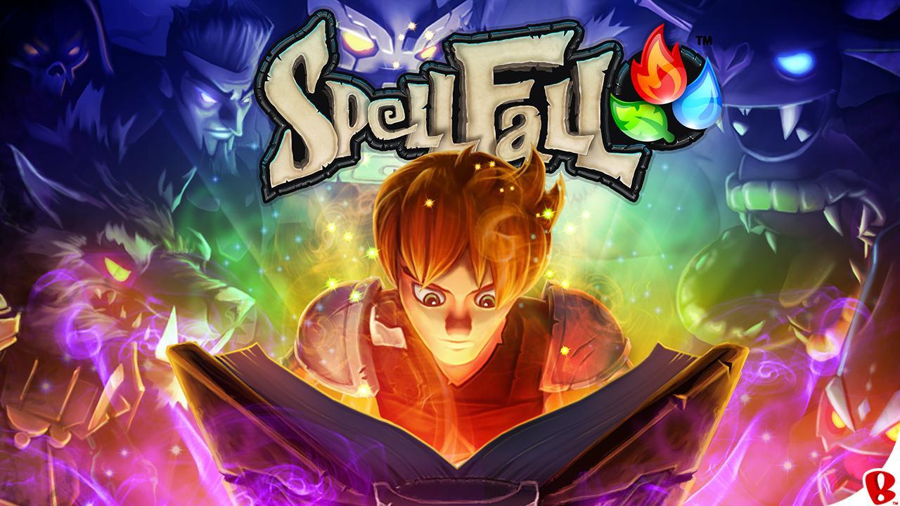 Matching game e gioco di ruolo insieme in Spellfall - Puzzle Adventure (foto e video)