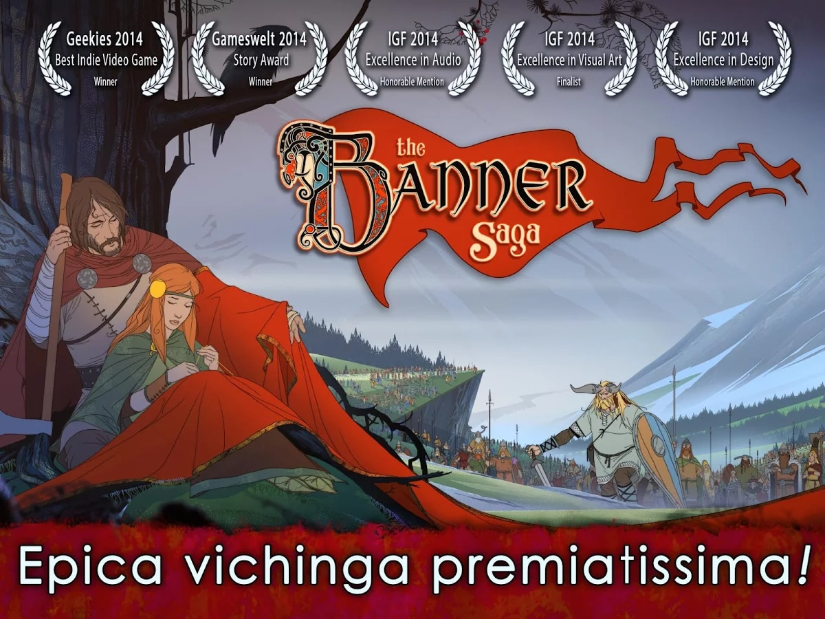 The Banner Saga Coperrtina