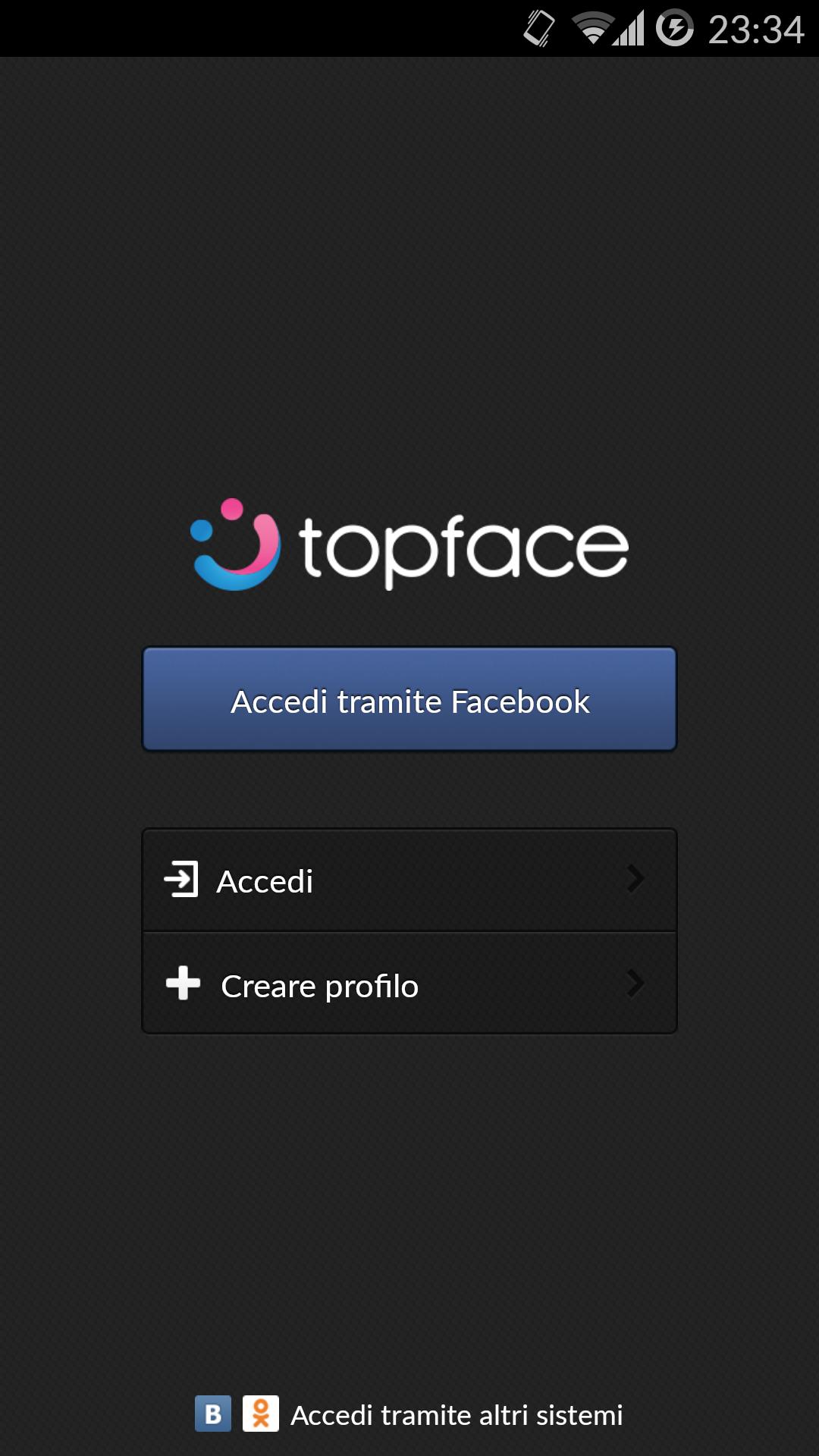 Sito Web di incontri Topface