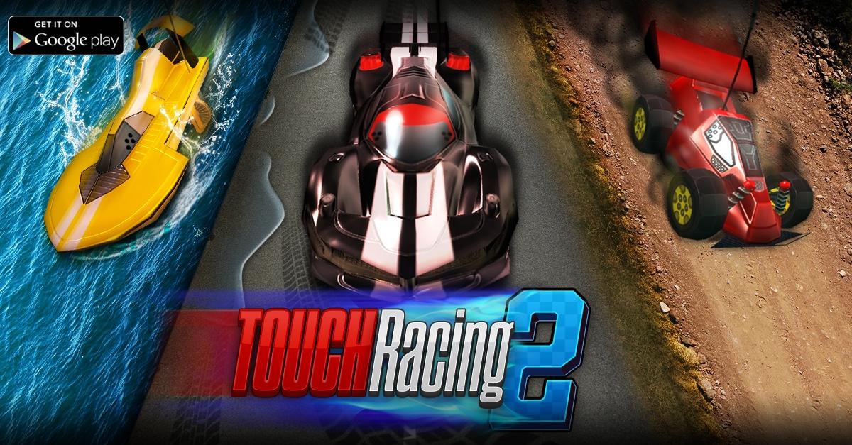 Touch Racing 2 Copertina