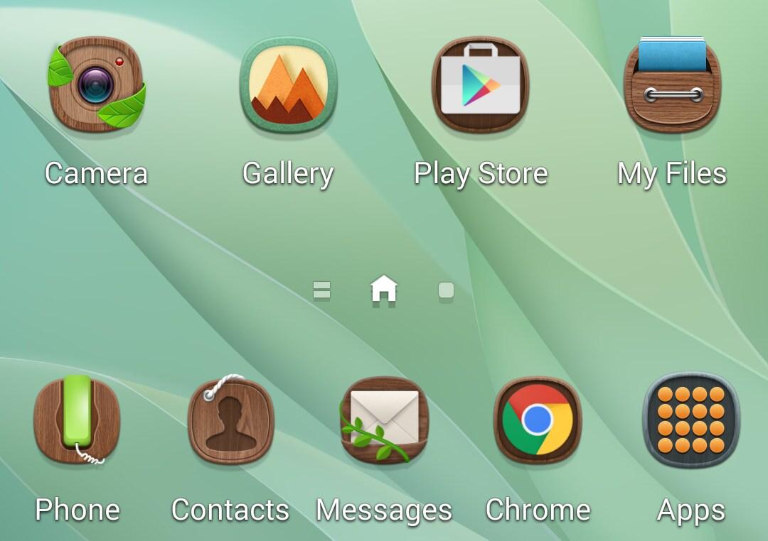 Temi sulla TouchWiz: nuovi screenshot mostrano quanto saranno personalizzabili gli smartphone Samsung (foto)