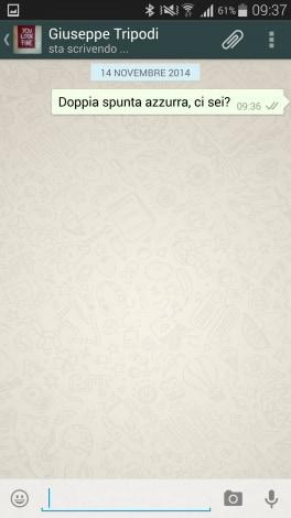 WhatsApp doppia spunta azzurra disabilitata - 00001