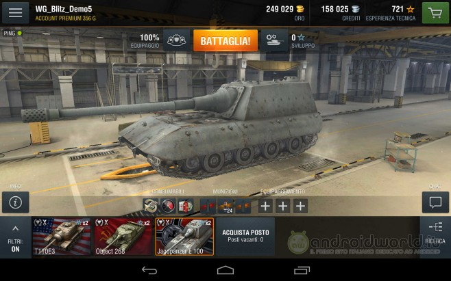 World of Tanks Blitz Android (1)