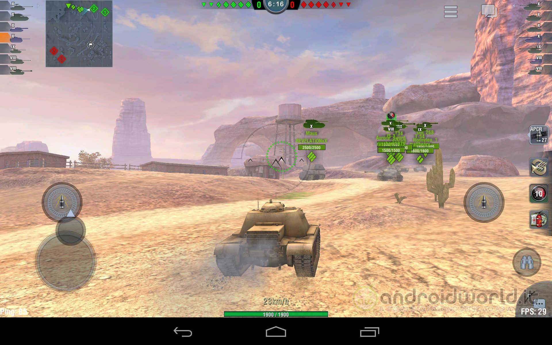 World of Tanks Blitz Android (2)