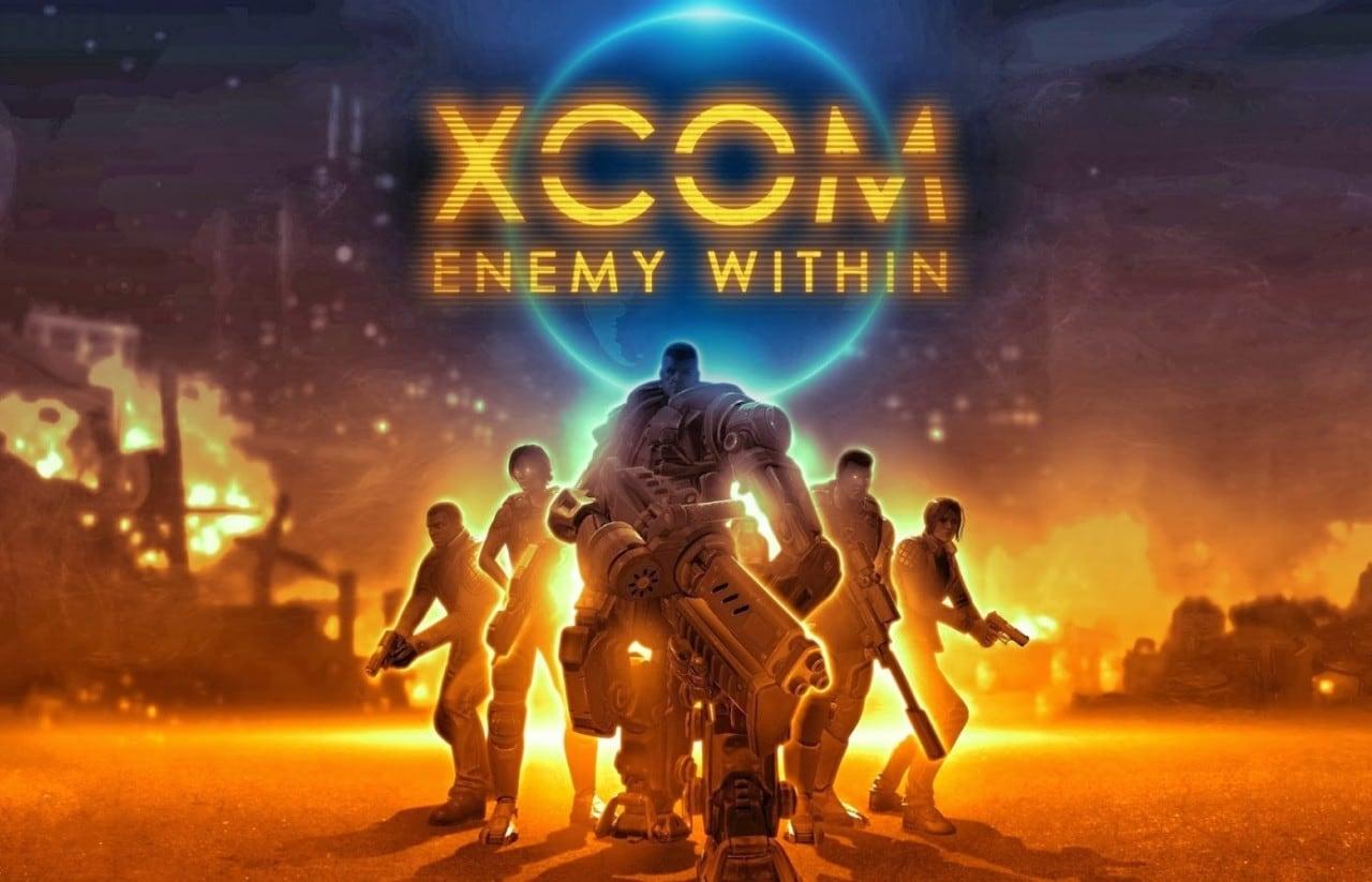 XCOM Enemy Within Copertina