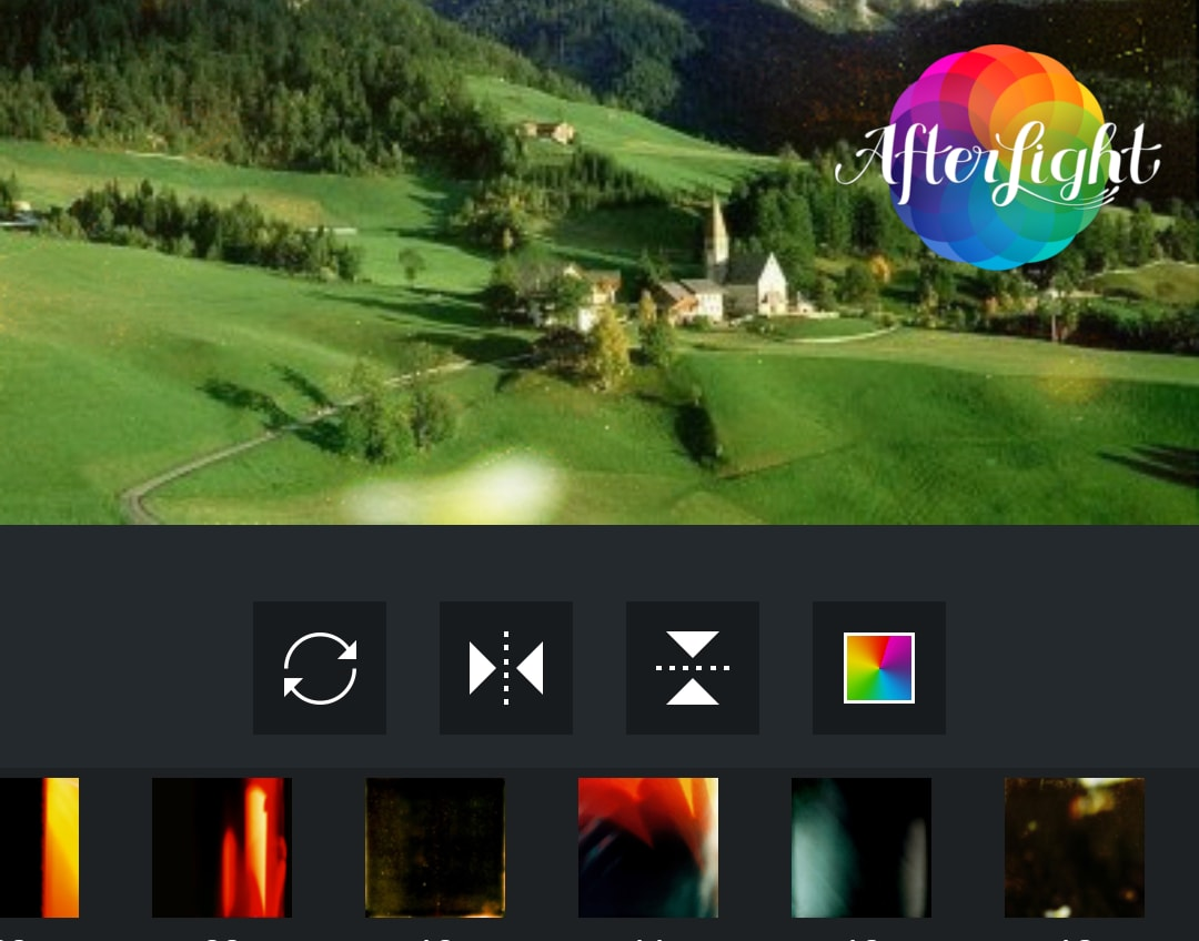 App tipo afterlight per android