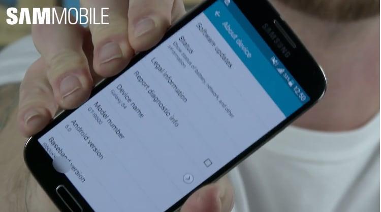 Lollipop si mostra anche su Galaxy S4 (foto e video)