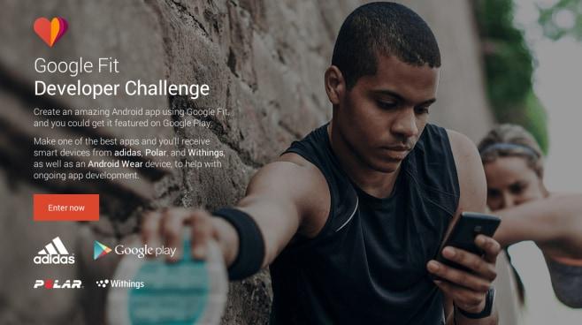 google fit developer challenge