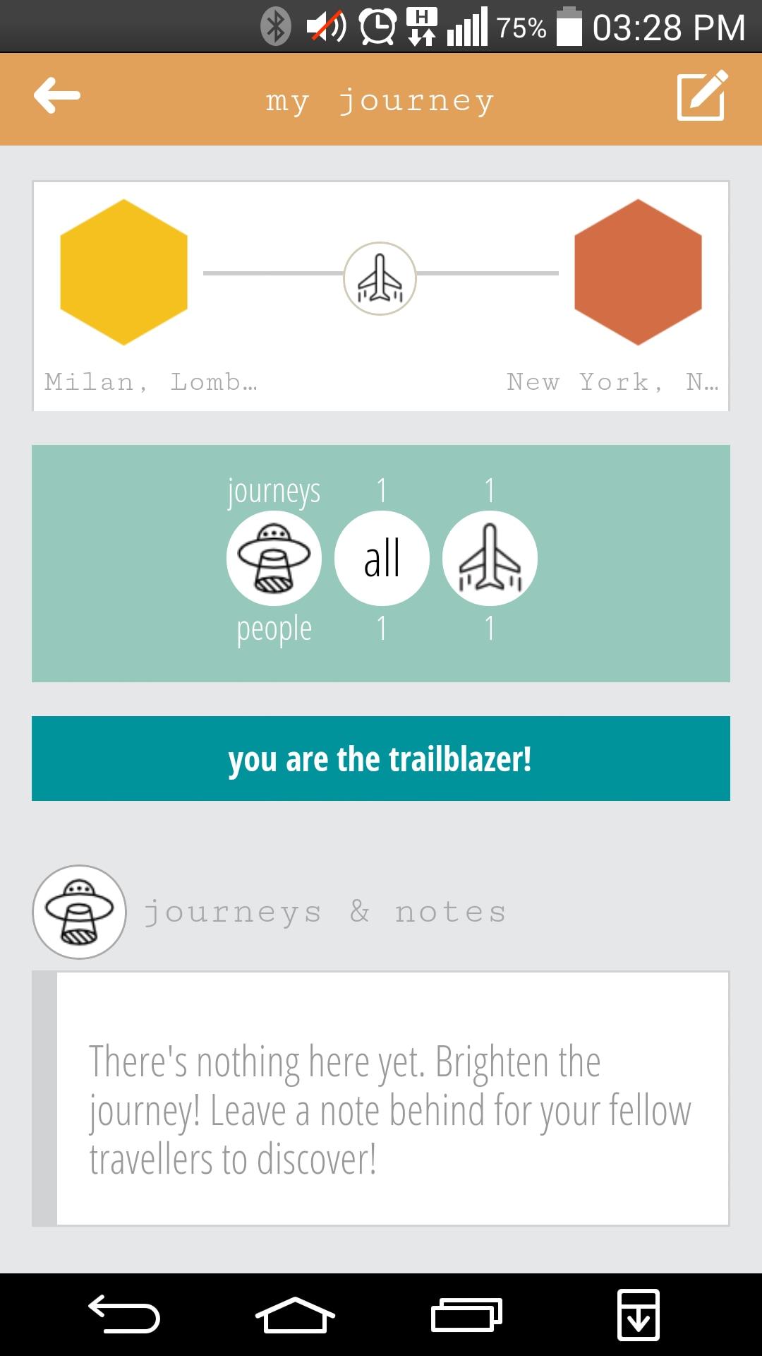 Journeys Amp Notes L App Per I Viaggi Social Secondo