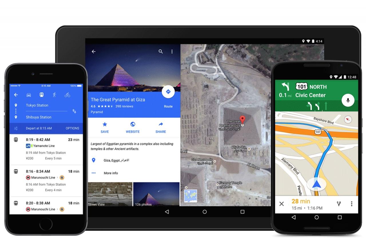 Google Maps introduce impostazioni di navigazione e altro (apk download)