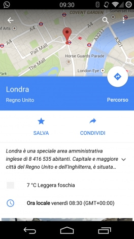 maps update