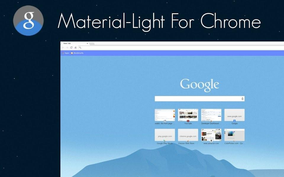 Chrome adotta il material design su desktop grazie a questi temi