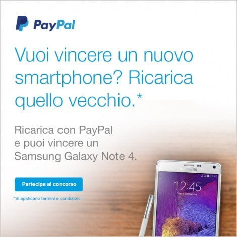 paypal Galaxy Note 4