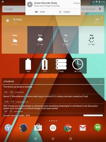 registrare lo schermo android lollipop - 00001