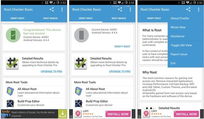Root Checker si aggiorna e rinnova l'interfaccia grafica