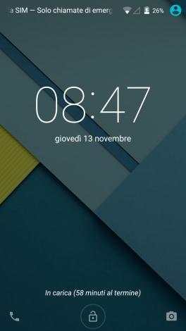 screenshot di Lollipop su Nexus 5 - 00001