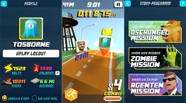 shape up battle run android