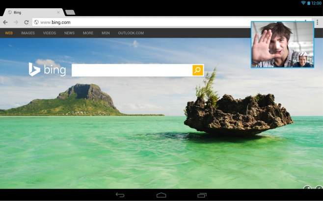 skype multitasking