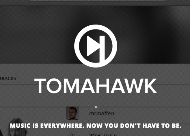 tomahawk_player musicale streaming