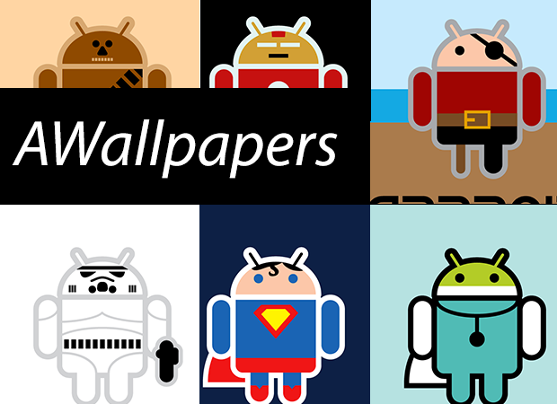 AWallpapers: 37 bellissimi Android travestiti
