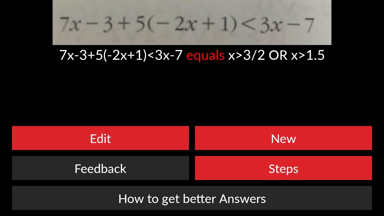 AutoMath: il vostro smartphone vi aiuta nella soluzione di quesiti matematici (foto e video)