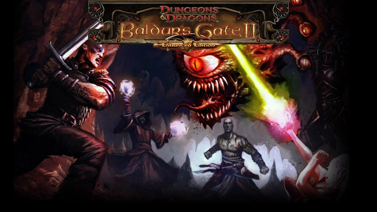 Baldur's Gate II Enhanced Edition Copertina