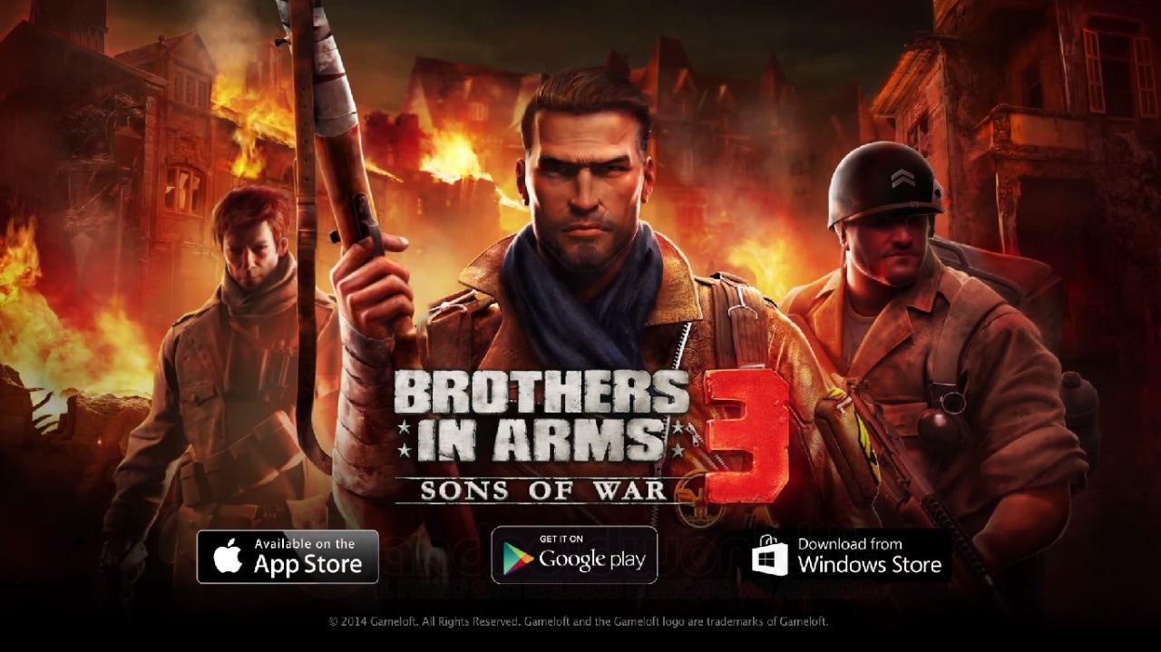 Gameloft e Gearbox Software insieme per Brothers in Arms 3, ecco il primo teaser trailer (video)