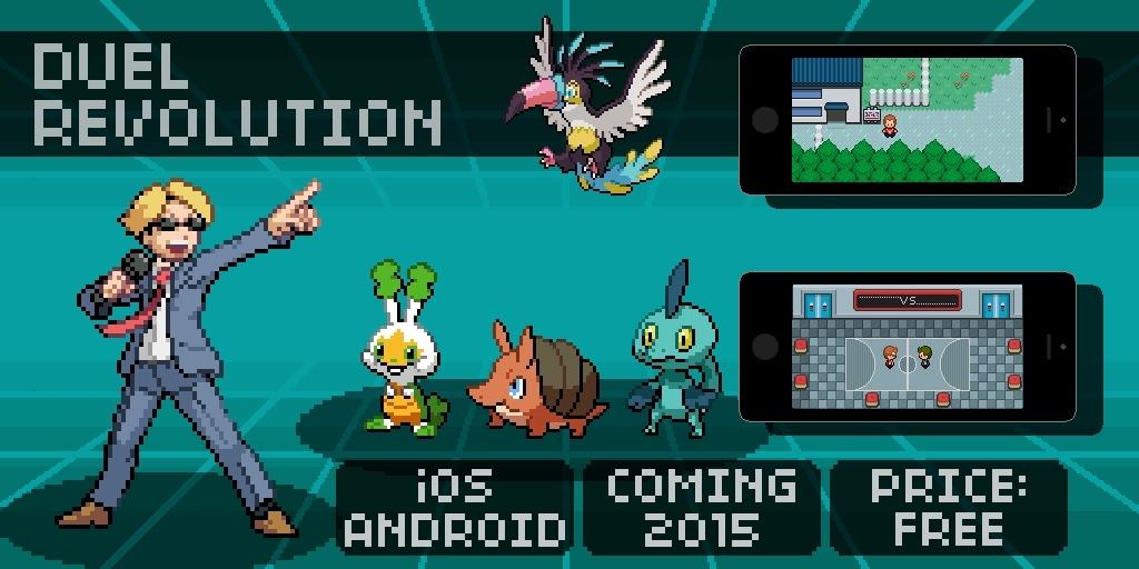 Duel Revolution per Android è un clone di Pokémon, e non fa niente per nasconderlo: in arrivo nel 2015