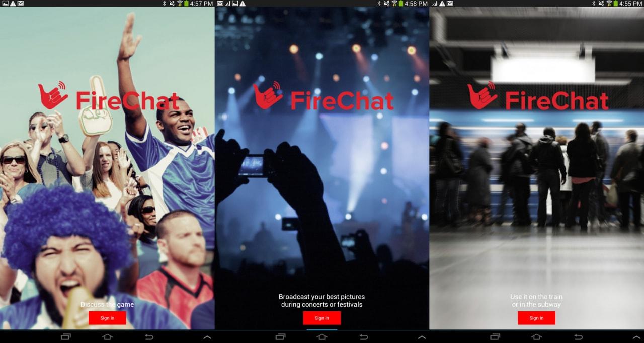 Foto e follower arrivano su Firechat