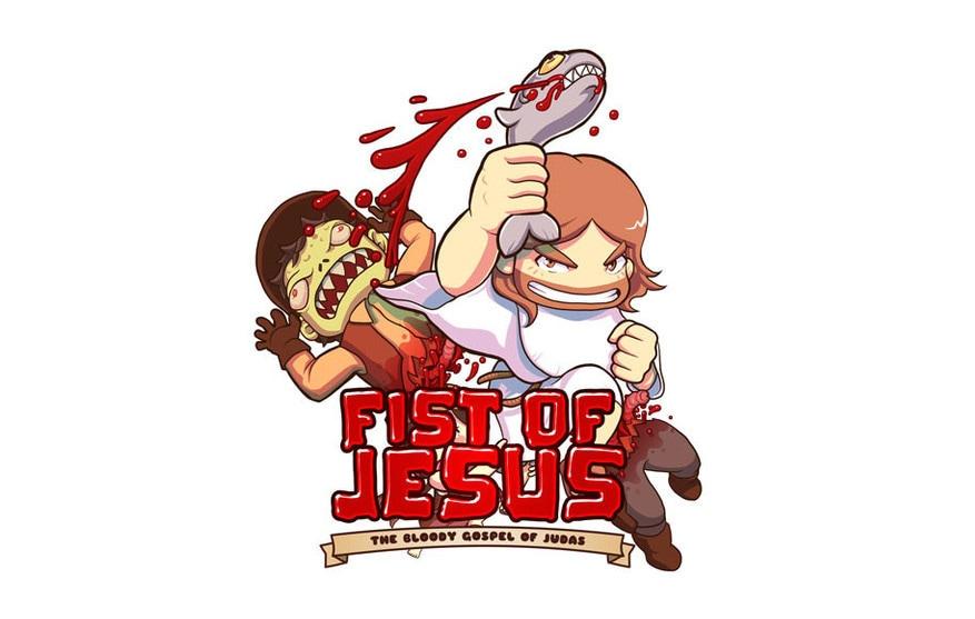 Fist oj Jesus Copertina
