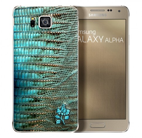Galaxy Alpha retro pelle - 1