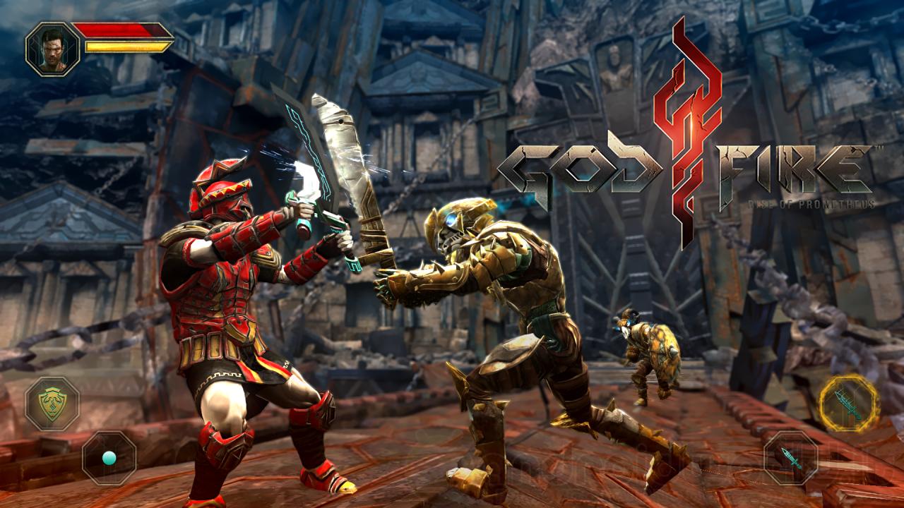 Godfire: Rise of Prometheus, il 3D action di Vivid Games disponibile gratuitamente per Android (foto e video)