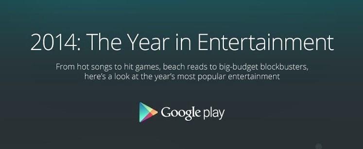 App, giochi, film, libri e fonti d'informazione migliori del 2014 in un'infografica di Google