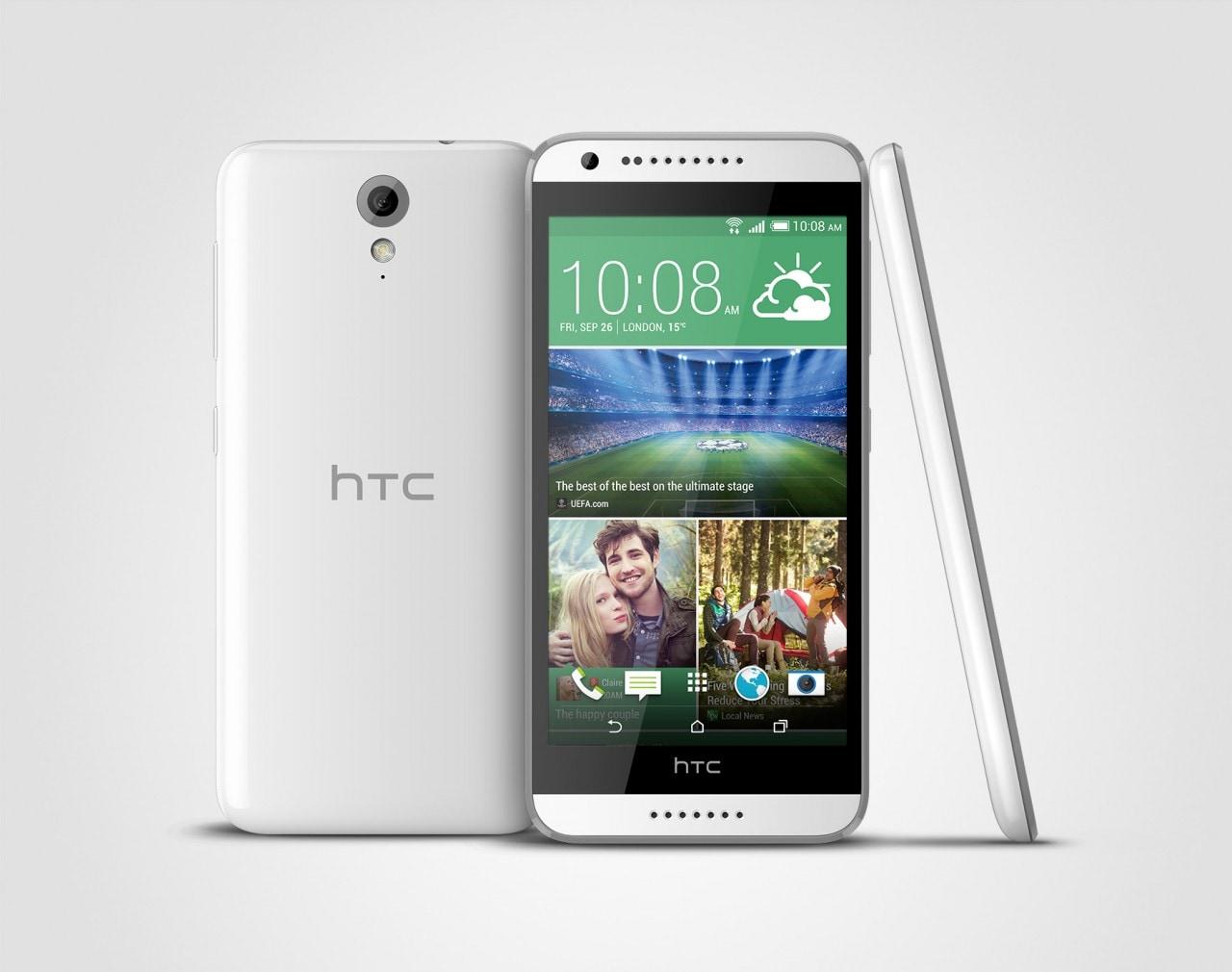 HTC Desire 620 annunciato per l'Italia, in versione mono e dual SIM