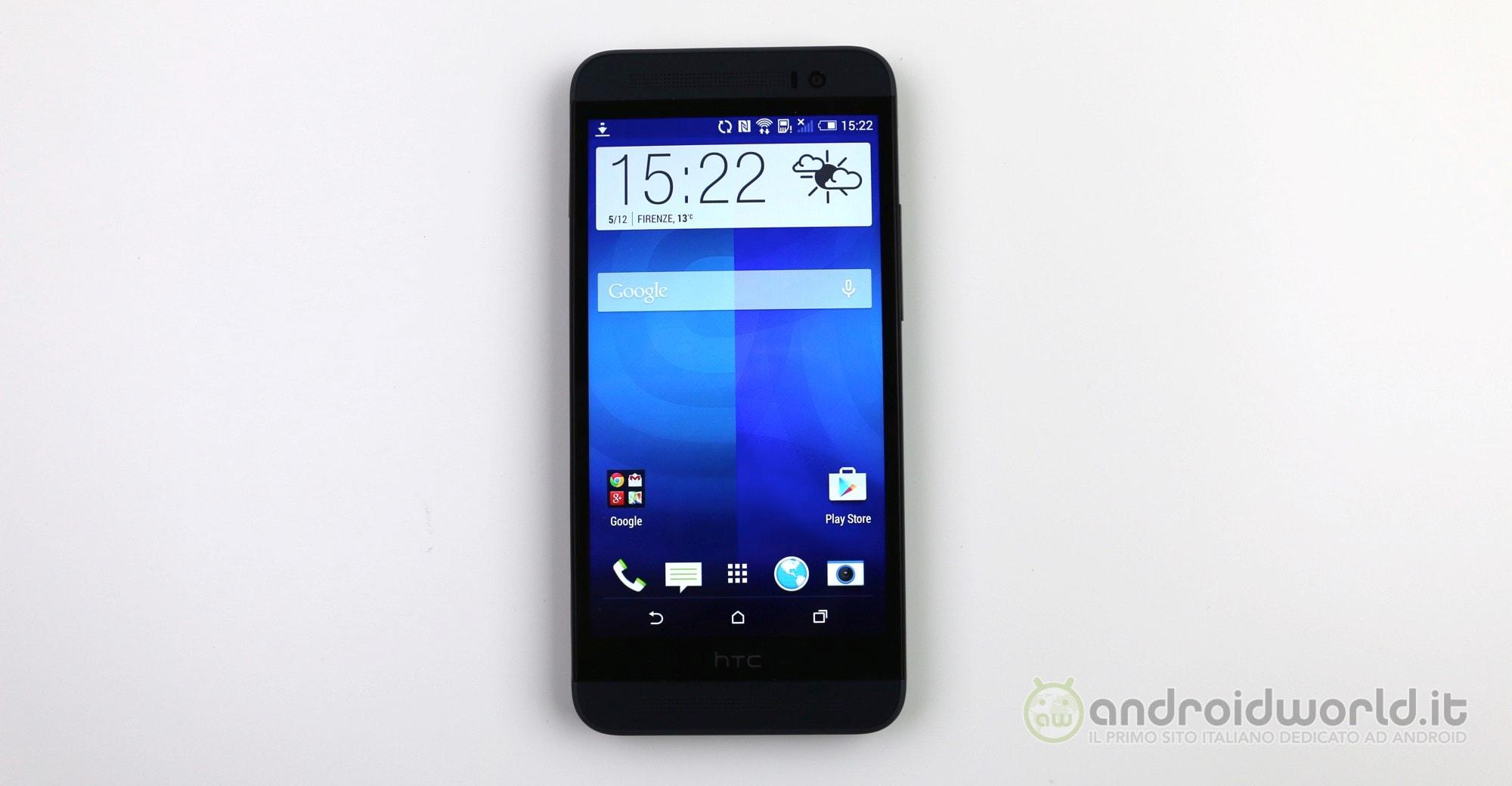 HTC One E8 recensione 2