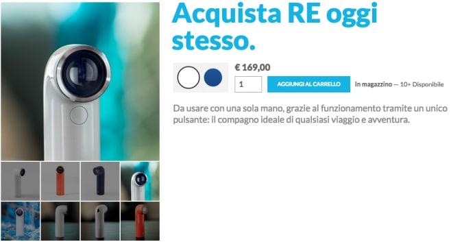 HTC RE Italia