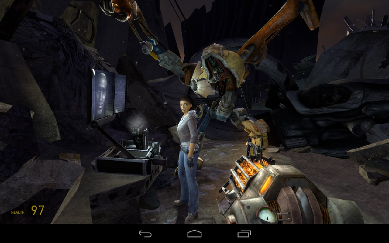 Half-Life 2 Episode One NVIDIA Shield Tablet