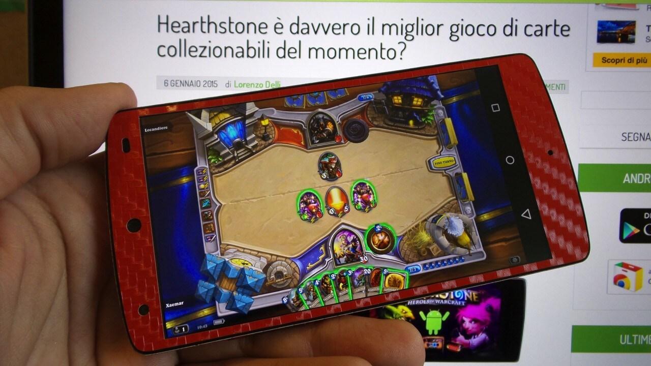 Hearthstone Smartphone Guida