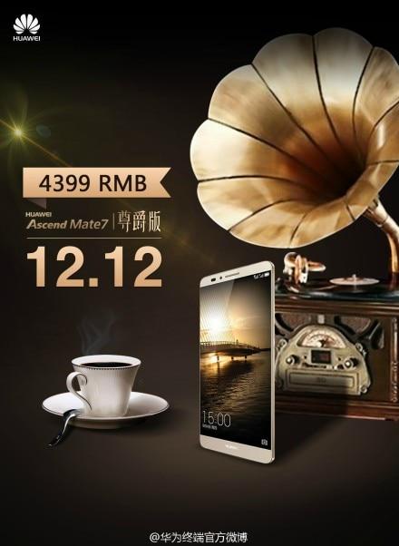 Huawei Ascend Mate 7 Monarch si prepara a dominare la Cina