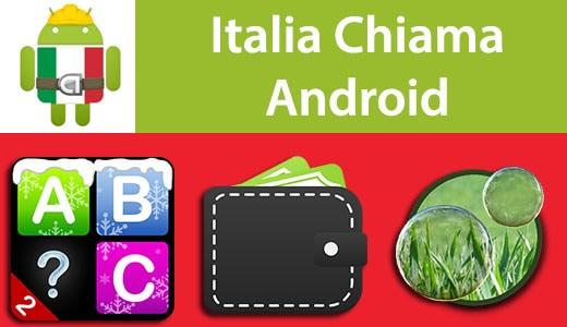 Italia Chiama Android: Quante parole sai? 2, Personal Budget, Magic Bubbles