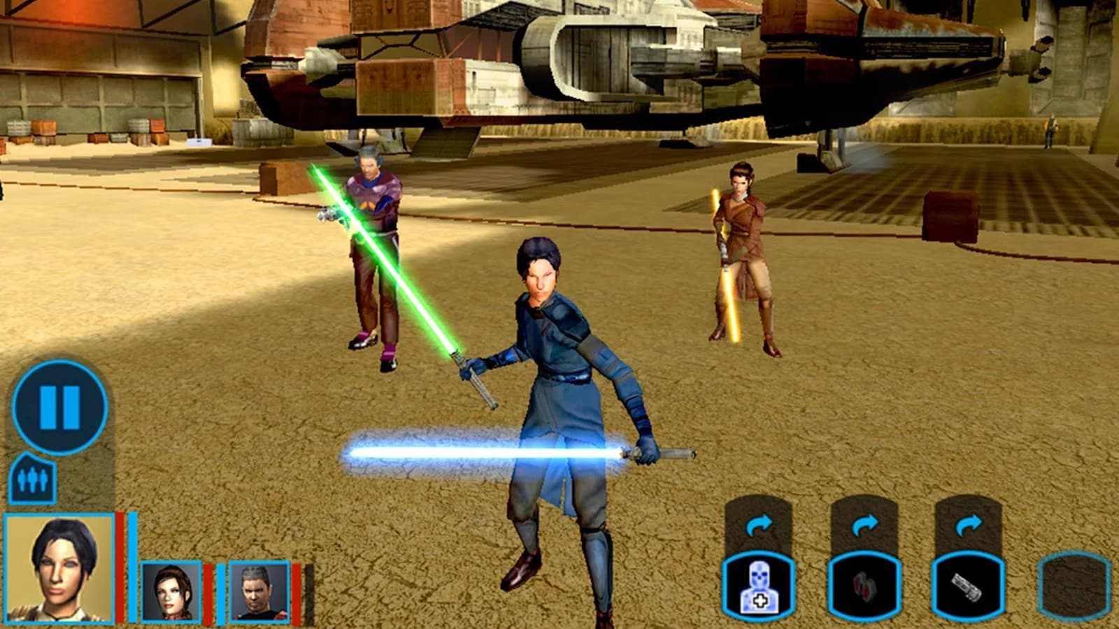 Knights of the Old Republic Android (1)