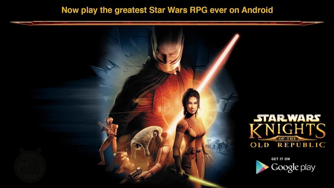 Star Wars: Knights of the Old Republic arriva su Android: che la forza - e il portafoglio - sia con voi (foto e video)