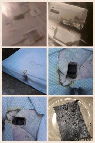 LG G3 buco materasso