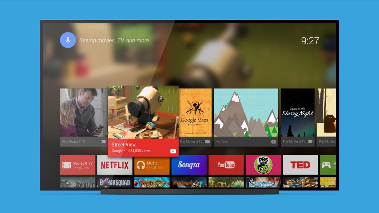 Il launcher della Android TV arriva sul Play Store