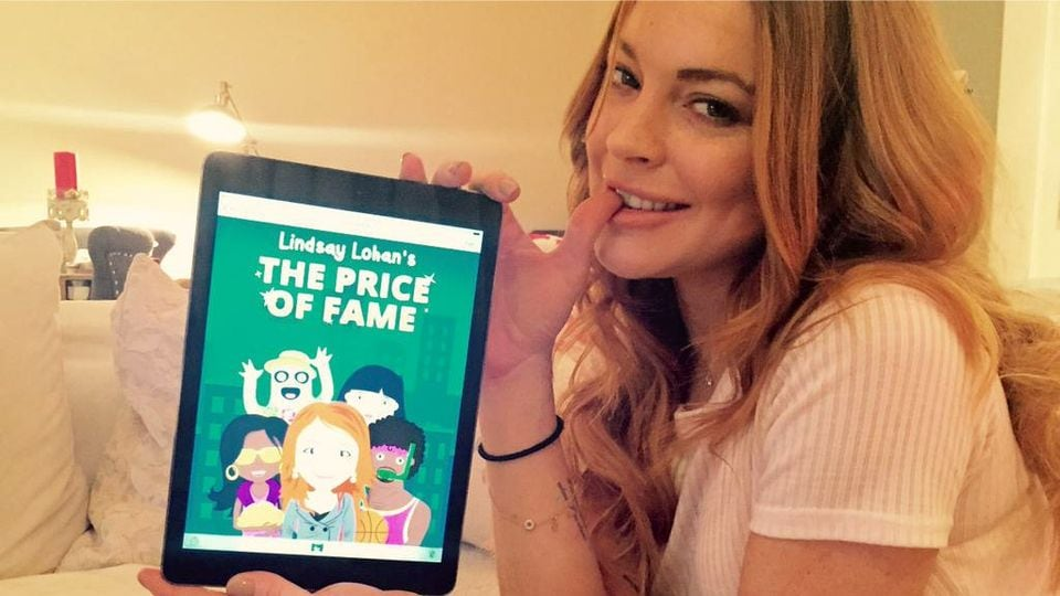 Lindsay Lohan's Price of Fame Android