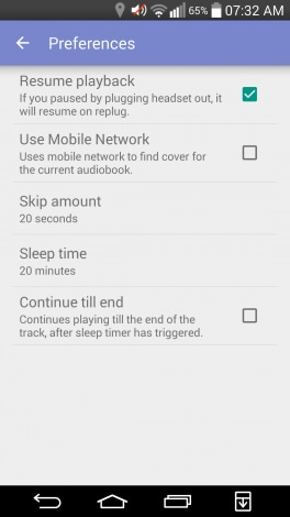 Material Audiobook Player_ app per gestire audiolibri_1