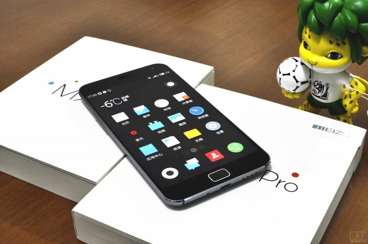 Meizu MX4 Pro close up - 1