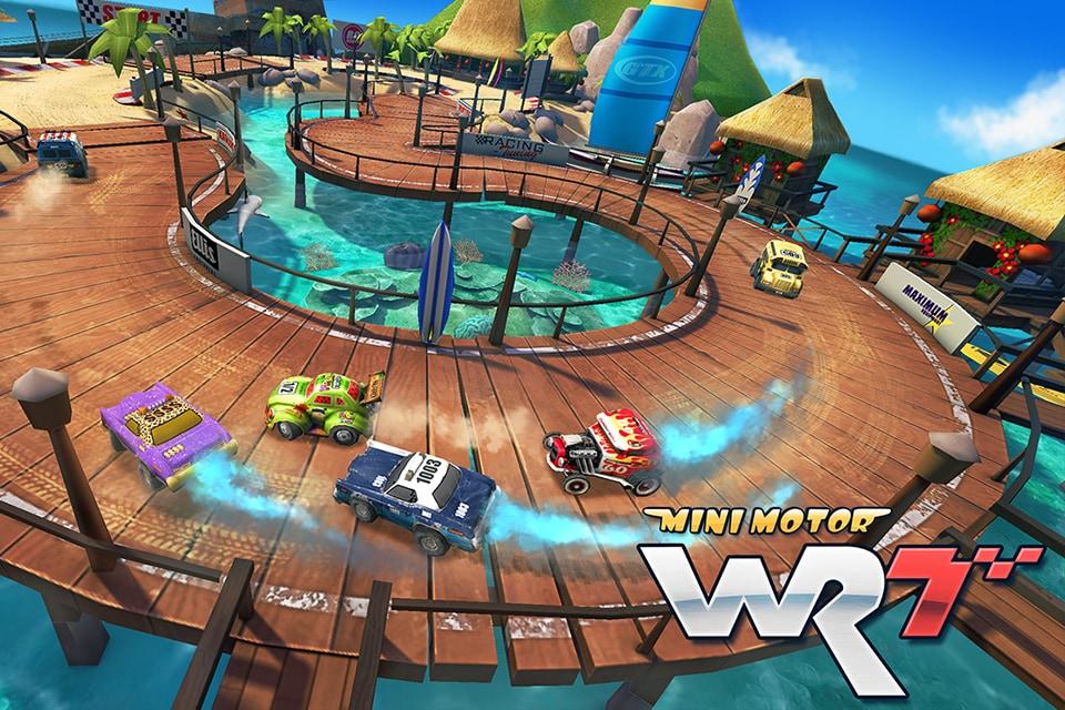 Mini Motor Racing WRT Android (2)